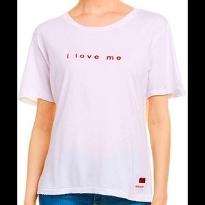 NWT PEACE LOVE WORLD LOVE ME TOP SIZE L